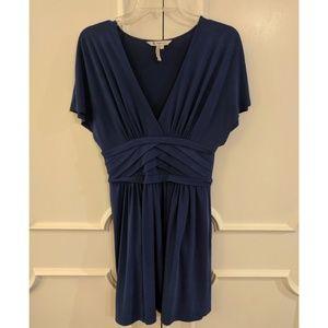 Flowy blue BCBG dress